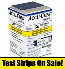 Accu Chek Diabetic Test Strips Glucose Blood